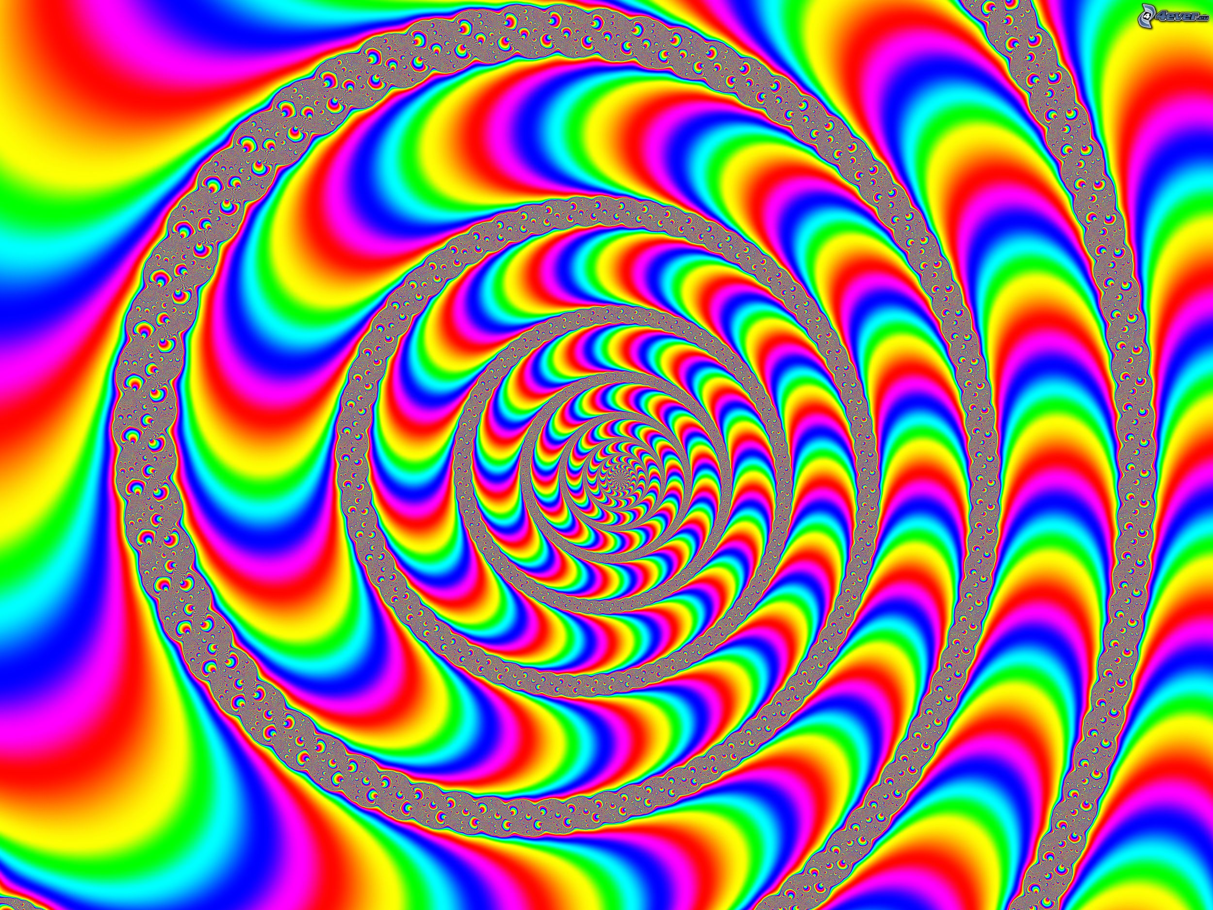 animated optical illusion color spectrum spirals optical illusions wallpaper