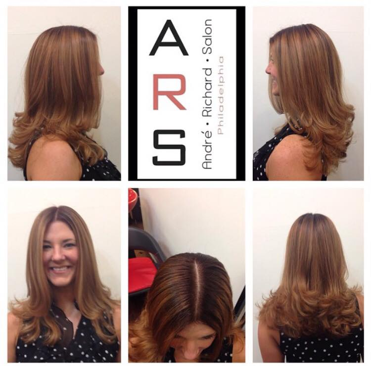 Brown Hair Balayage Philadelphia
