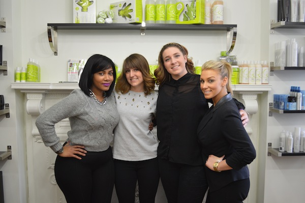 Best hair stylists in Philadelphia balayage class